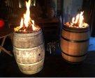 Te HUUR & te TE KOOP vuurtafels(bar,..salon..)...vuurzuilen...vuur-wijnton etc